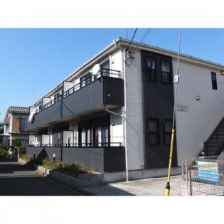 東京都日野市南平6丁目の賃貸アパートの外観
