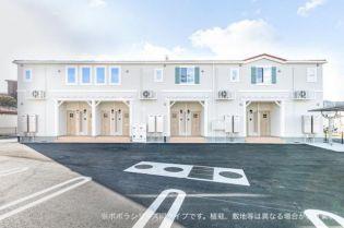 神奈川県大和市福田の賃貸アパート