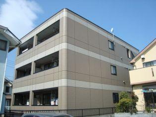 東京都日野市万願寺1丁目の賃貸マンションの外観