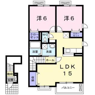 カーサ セレーノ B[2階]