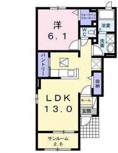 ガーデン ラベンダー[1階]