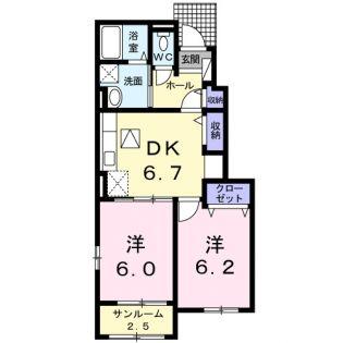 ランコントリヤン高浜・Ⅱ[1階]