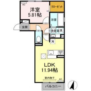 サニーハイツ[2階]