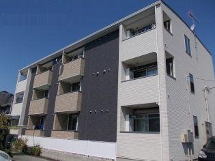 栃木県宇都宮市南町の賃貸アパートの外観