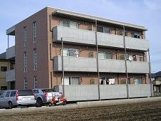 栃木県宇都宮市城南2丁目の賃貸マンションの外観