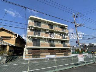 岡山県岡山市中区国富4丁目の賃貸マンション
