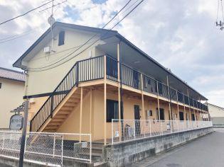 岡山県岡山市中区赤田の賃貸アパート