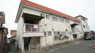静岡県浜松市東区有玉南町の賃貸アパートの外観