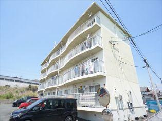静岡県浜松市天竜区二俣町鹿島の賃貸マンションの外観