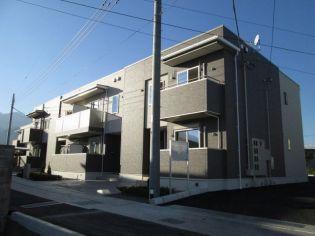 山梨県南アルプス市飯野の賃貸アパートの画像