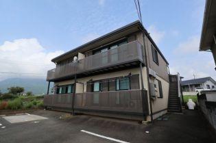 山梨県韮崎市大草町下條中割の賃貸アパートの外観