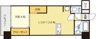 コンプレート古船場 7階の賃貸【福岡県 / 北九州市小倉北区】