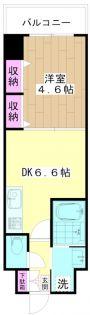ミューズ竹の塚[3階]の間取り
