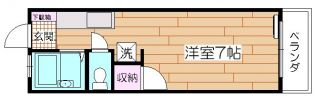 AMI清綾[1階]の間取り