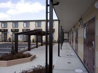 レオパレスパルmimi[111号室]の外観