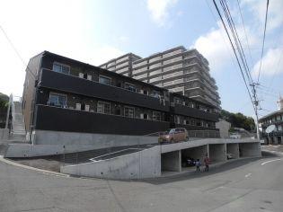 modern palazzoNorth赤迫 A棟[1階]の外観