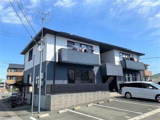 熊本県熊本市東区長嶺東7丁目の賃貸アパート