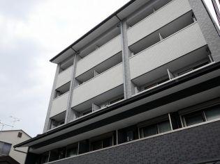 京都府京都市上京区中筋通千本東入西亀屋町の賃貸マンションの外観