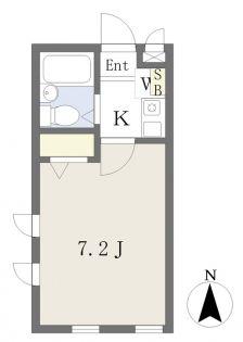 インペリアル新宿[301号室]の間取り