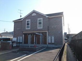 岡山県玉野市槌ケ原の賃貸アパートの外観