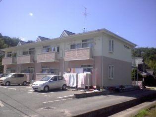 岡山県岡山市中区土田の賃貸アパート