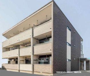 埼玉県春日部市梅田本町2丁目の賃貸アパートの外観