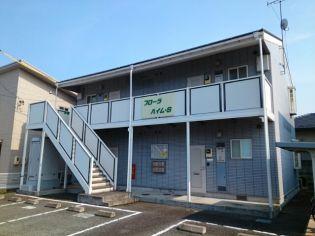 長野県長野市大字柳原の賃貸アパートの外観