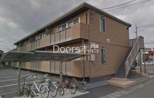 岡山県岡山市北区平田の賃貸アパート