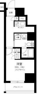 東京都北区堀船2丁目の賃貸マンションの間取り