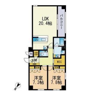 福岡県福岡市中央区高砂1丁目の賃貸マンション