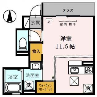 仮称 D-room小曽根4丁目[1階]の間取り