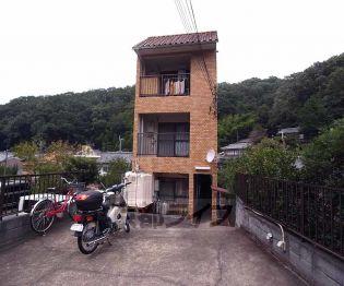 京都府京都市左京区北白川丸山町の賃貸アパート
