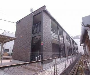 京都府京田辺市草内橋折の賃貸アパート