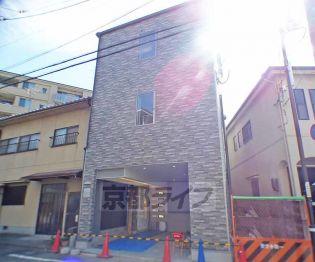 京都府京都市左京区山端川原町の賃貸マンションの外観