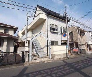 京都府京都市西京区桂下豆田町の賃貸アパートの外観