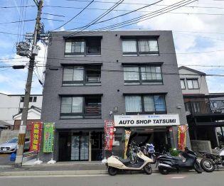 京都府京都市上京区新白水丸町の賃貸マンション