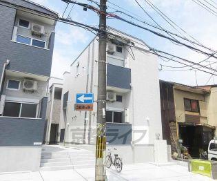 京都府京都市山科区東野舞台町の賃貸アパート