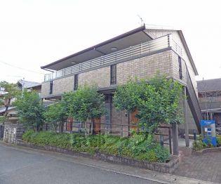 京都府京都市北区西賀茂神光院町の賃貸アパート