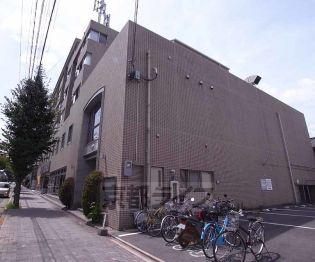 京都府京都市左京区北白川山田町の賃貸マンションの外観