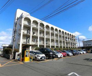 京都府長岡京市馬場2丁目の賃貸マンションの外観
