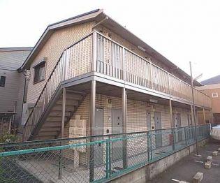 京都府京都市下京区岩上通仏光寺上る雁金町の賃貸アパート