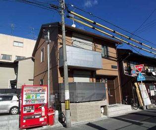 京都府京都市下京区本上神明町の賃貸アパートの外観