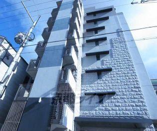 京都府京都市下京区新町通五条上る材木町の賃貸マンションの外観
