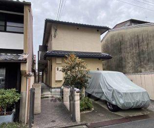 京都府京都市中京区福屋町の賃貸アパートの外観