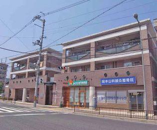 京都府京都市山科区御陵原西町の賃貸マンションの外観