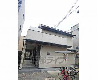 京都府京都市下京区新町通正面下る平野町の賃貸アパート