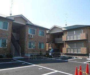 京都府城陽市枇杷庄出羽の賃貸アパートの画像