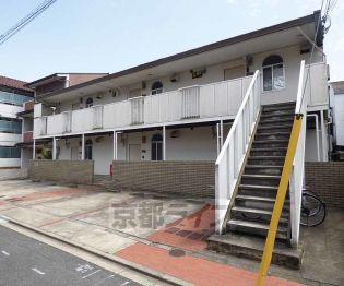 京都府京都市北区小山下総町の賃貸アパートの外観