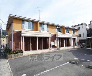 京都府京都市伏見区醍醐上ノ山町の賃貸アパート