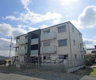 京都府亀岡市大井町並河堂又の賃貸アパートの外観